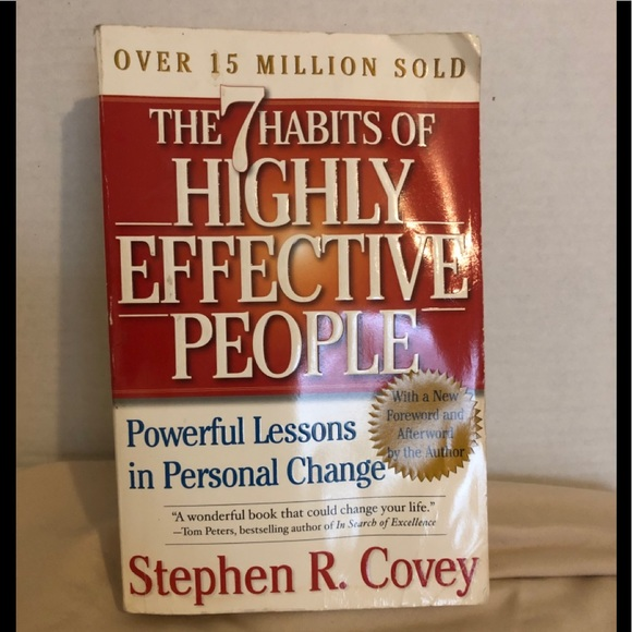 ****SOLD*****Motivational book - Stephen R Covey